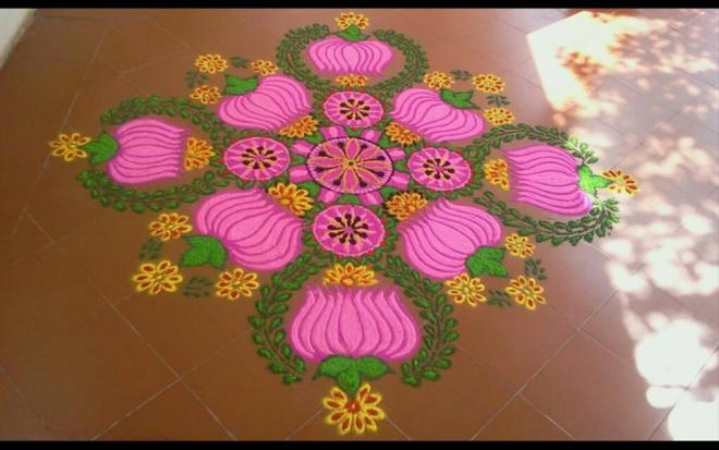 21 kolam design by mash