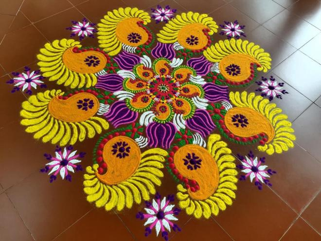 8 kolam design by mash