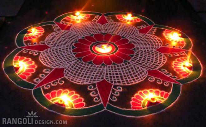 rangoli design for diwali shanthi sridharan 11