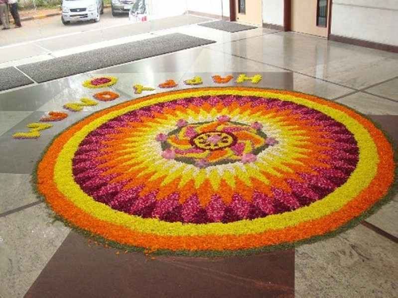 pookalam rangoli design