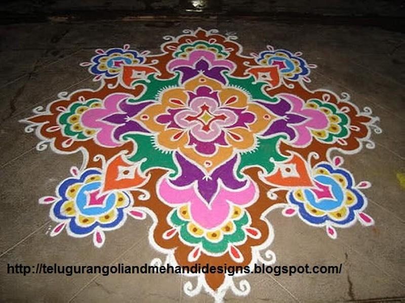 12 Rangoli Design By Honey