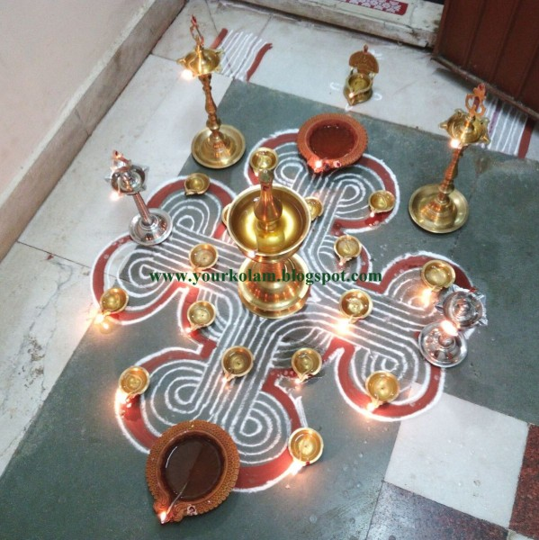 14 rangoli design by vijaya sharadha