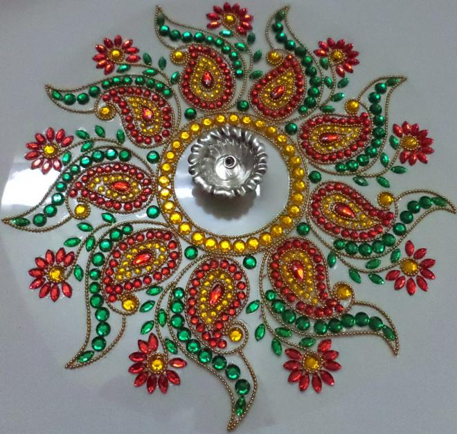 17 kundan design by nimisha