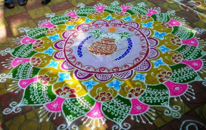 4 kolam design by kamala corner