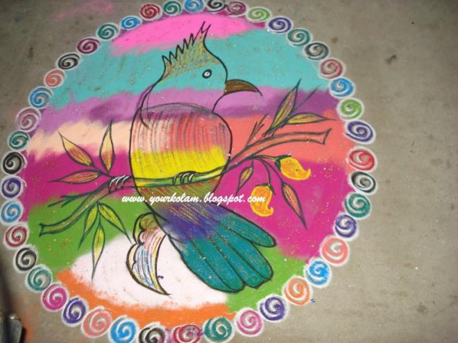 4 rangoli design by vijaya sharadha
