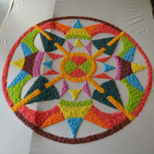 4 simple rangoli design by gowri savoor