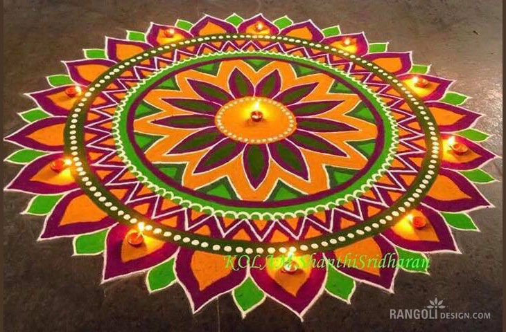 20 beautiful diwali rangoli designs and kolam designs by