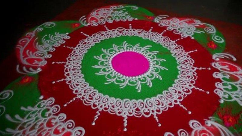 sanskar bharti rangoli designs deepali karanjavkar