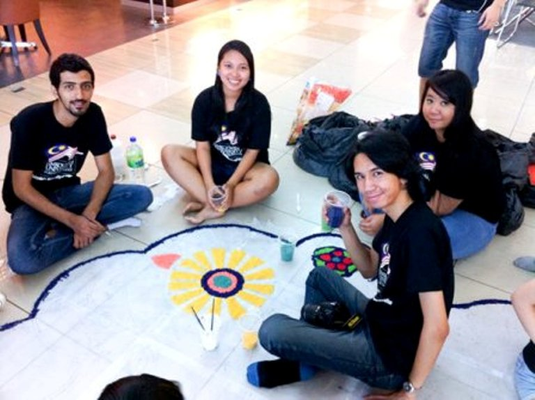 kolam project rangoli designs by dewi sata