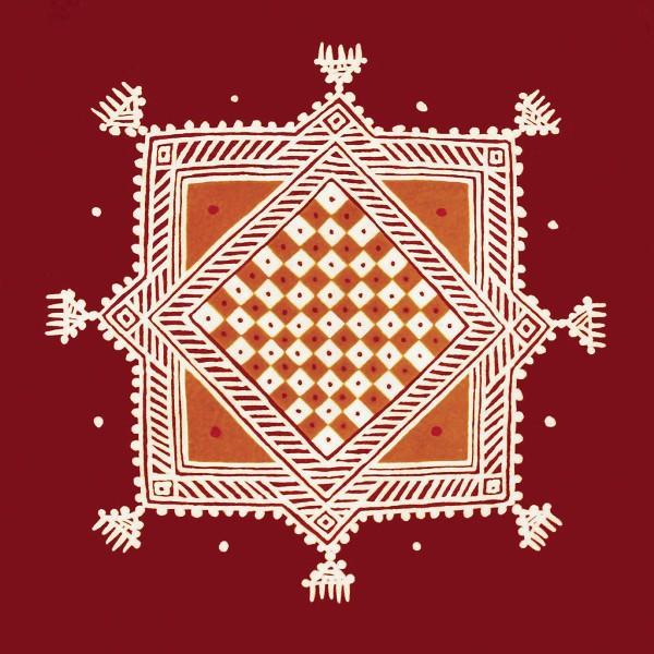 dots rangoli designs by lakhi chand jain