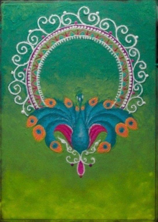sand painting rangoli designs humna mustafa