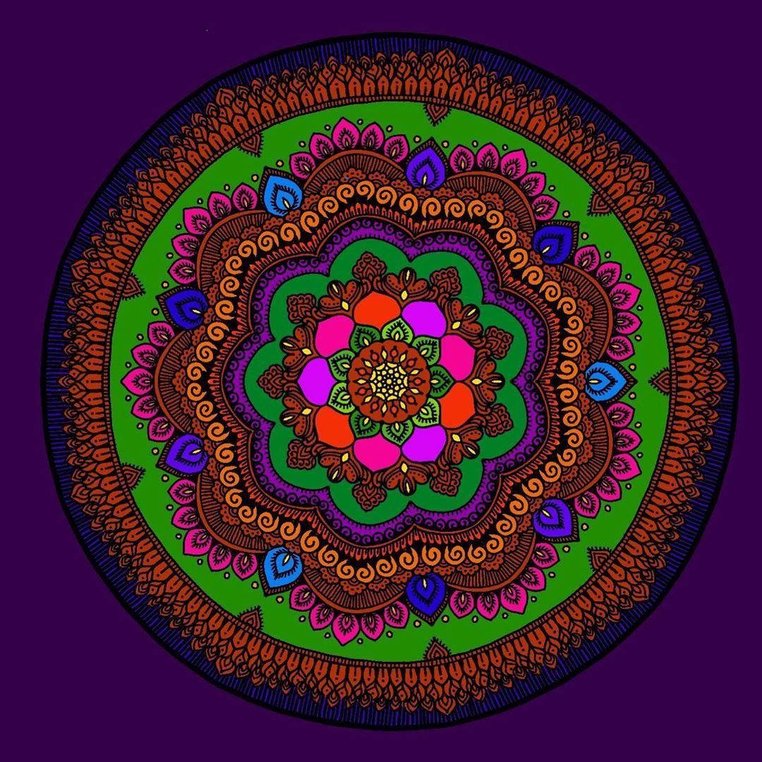 mandala art deepali karanjavkar