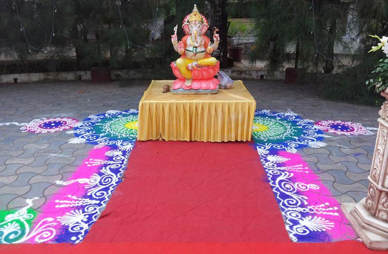 sanskar bharti rangoli minar patil