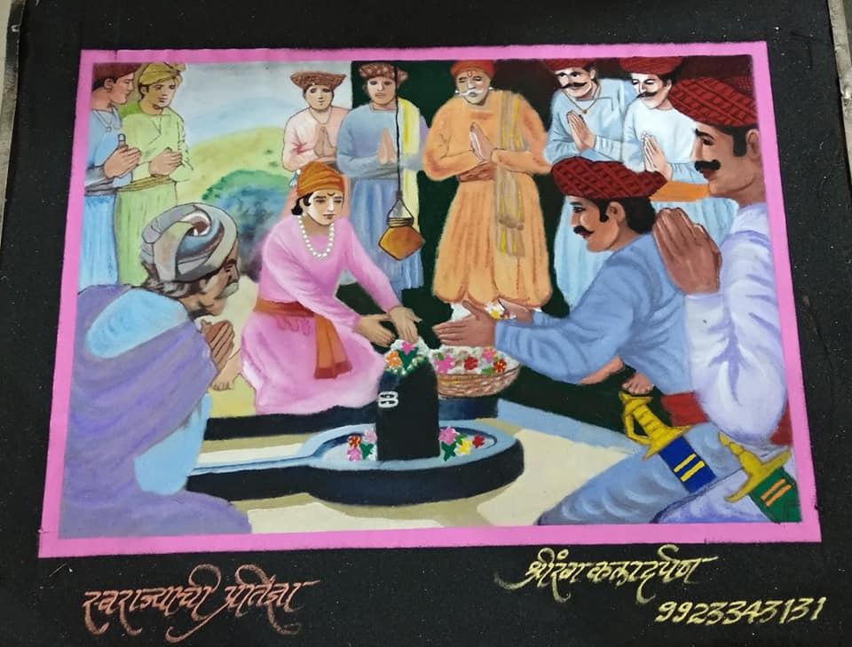 12 rangoli design story telling akshay shahapurkar