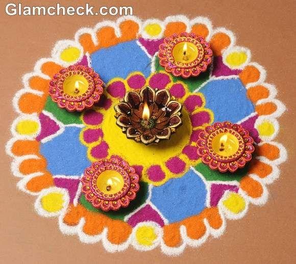 diwali rangoli design kavitha nandani