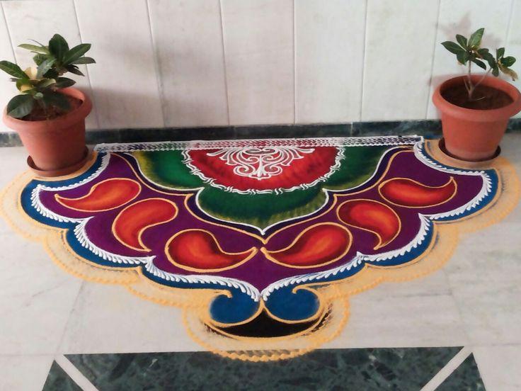 1 sanskar bharti rangoli design by rashtriya kala academy
