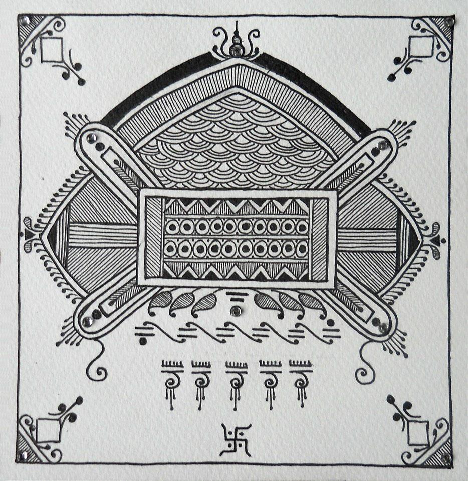 10 mandana rangoli design