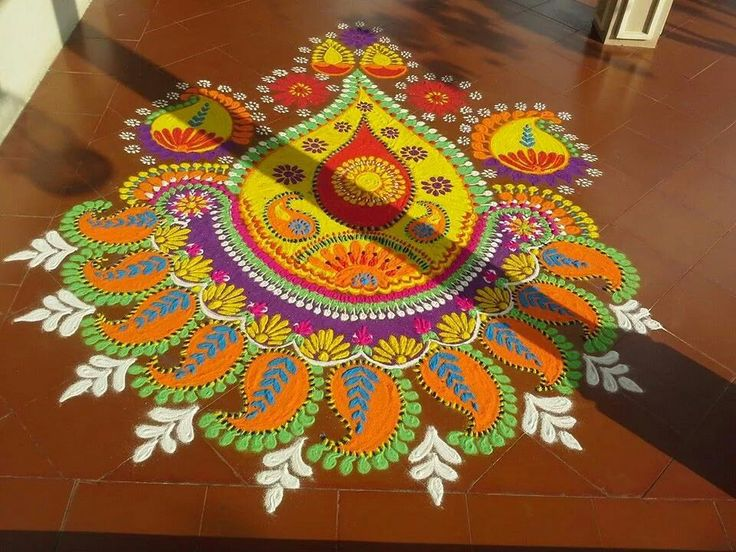 mash kolam design by aasavari deshpande kasralikar -  10