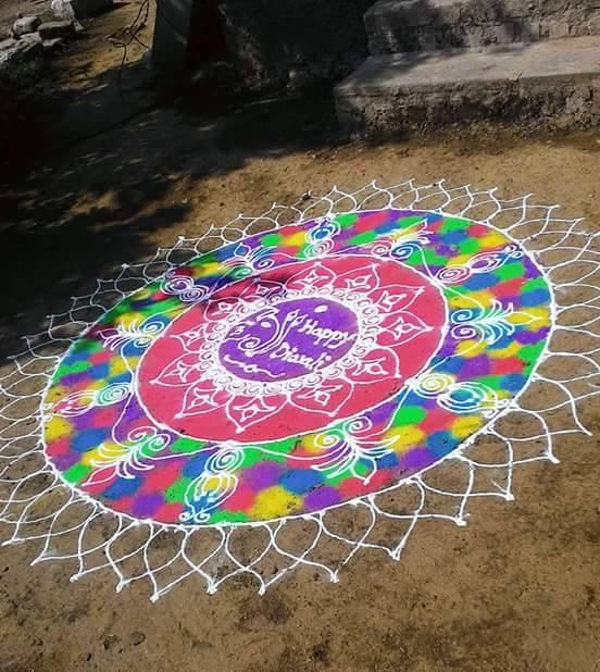 10 rangoli design by suhas mane
