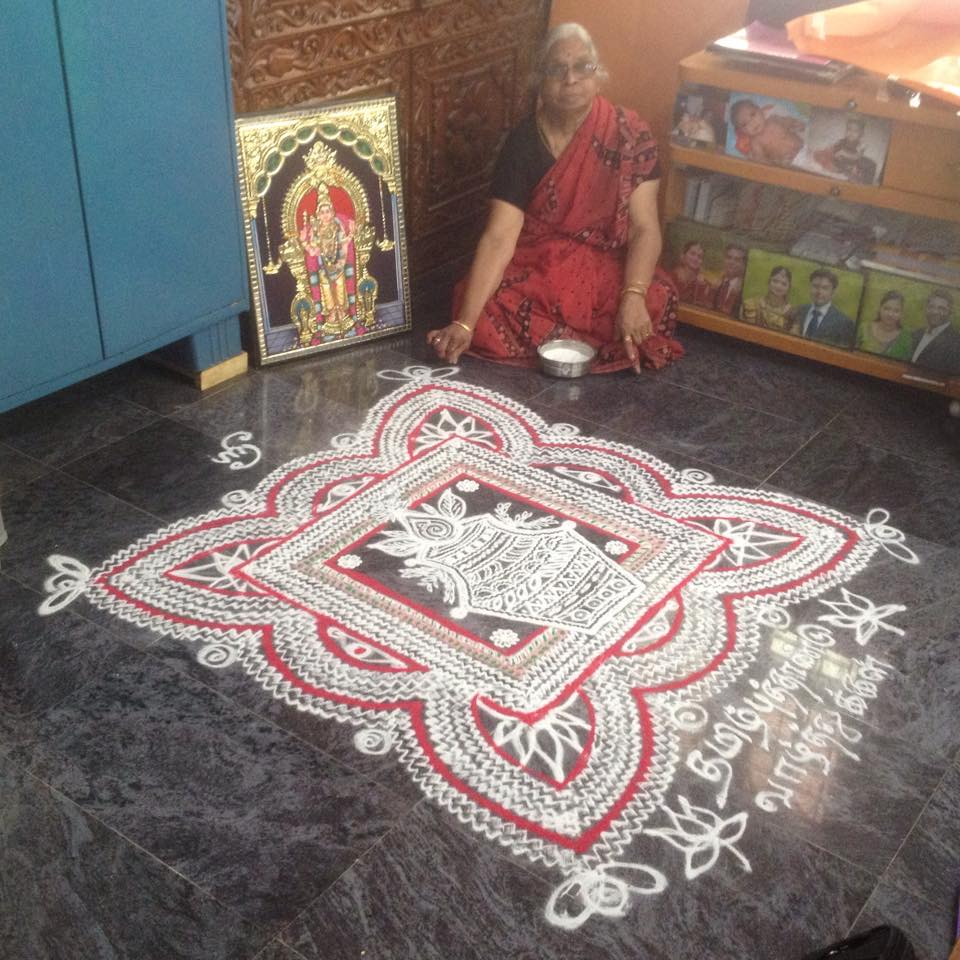 11 festival kolam design by saroja krishnamoorthy