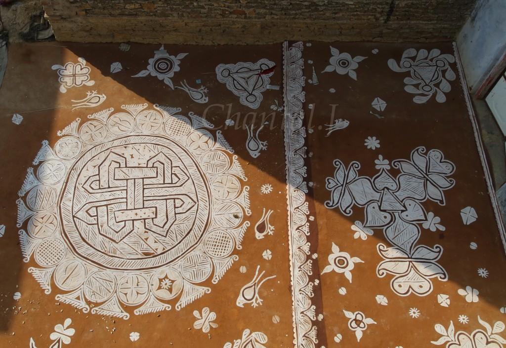12 mandana rangoli design