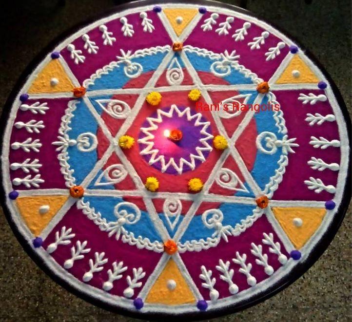 14 mandala rangoli design by ram