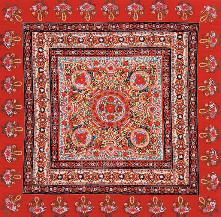 15 table cover mandana rangoli design