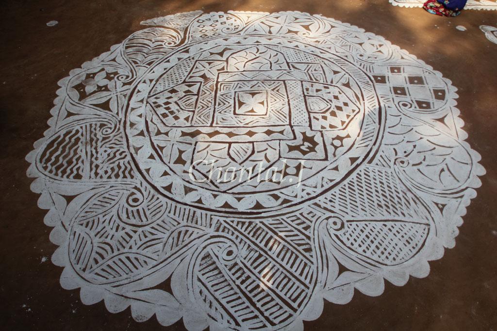 18 mandana rangoli design by jumel chantel