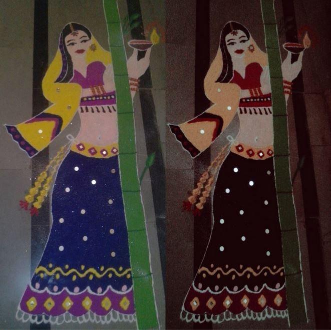 2 competition rangoli design