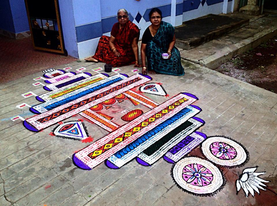 21 freehand kolam design by saroja krishnamoorthy mangalam srinivasan