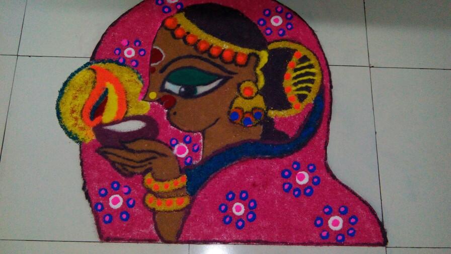 3 diwali rangoli by aparajita sharma