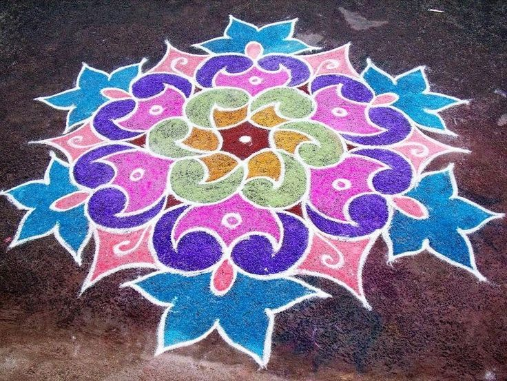 3 rangoli design by mburadkar