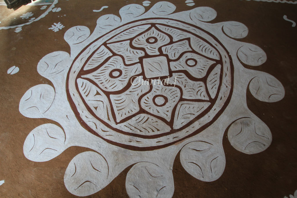 4 mandana rangoli design by jumel chantel