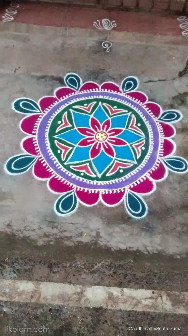 4 rangoli design by mburadkar