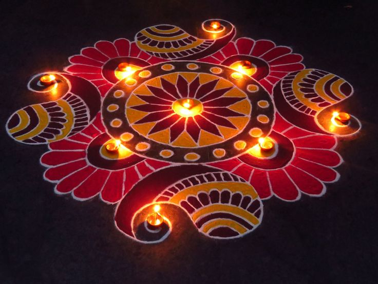 5 rangoli design by mburadkar