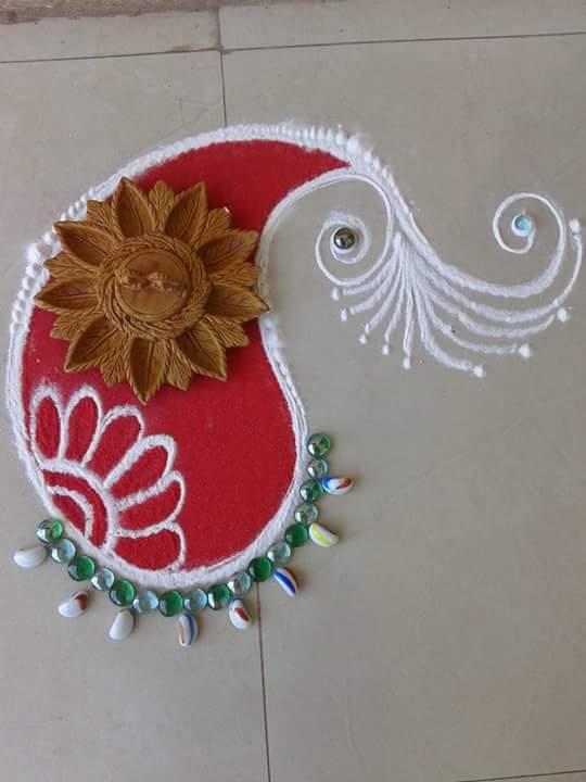 5 rangoli design by suhas mane