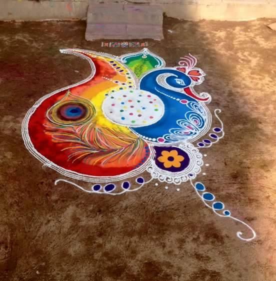 8 rangoli design by suhas mane