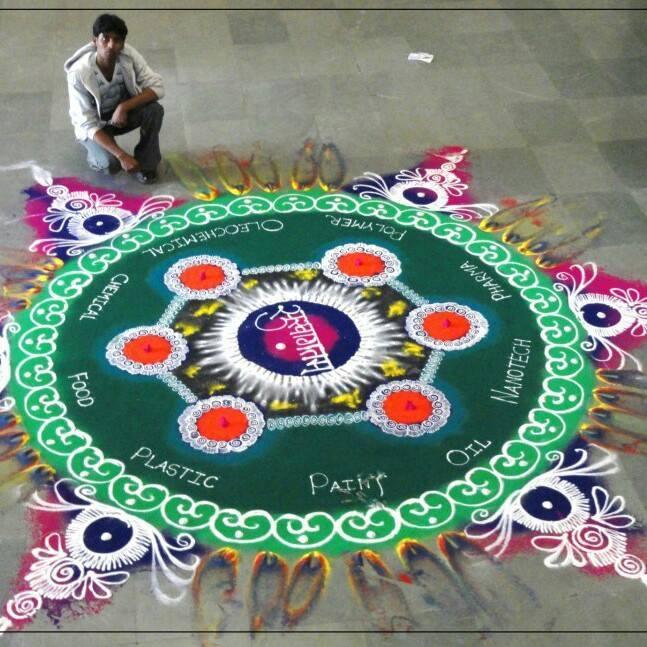 beautiful sanskar bharti rangoli