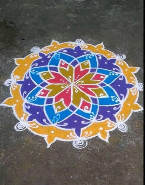 tamilnadu rangoli by madhana rajaguru