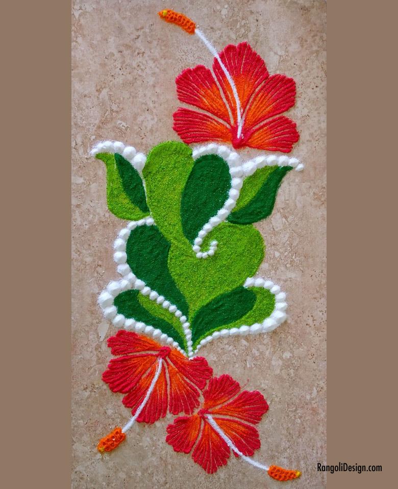 10 ganesh rangoli design for children