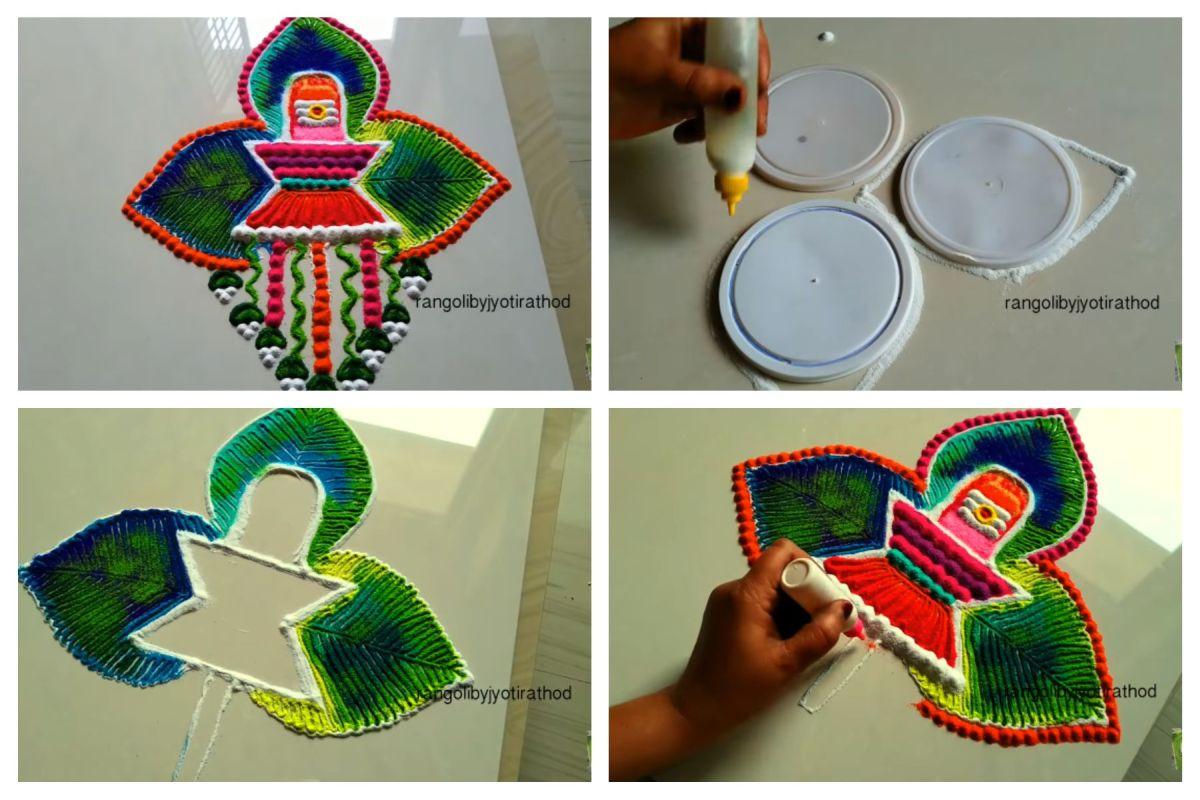 13 rangoli design for shivarathri by jothi rathod