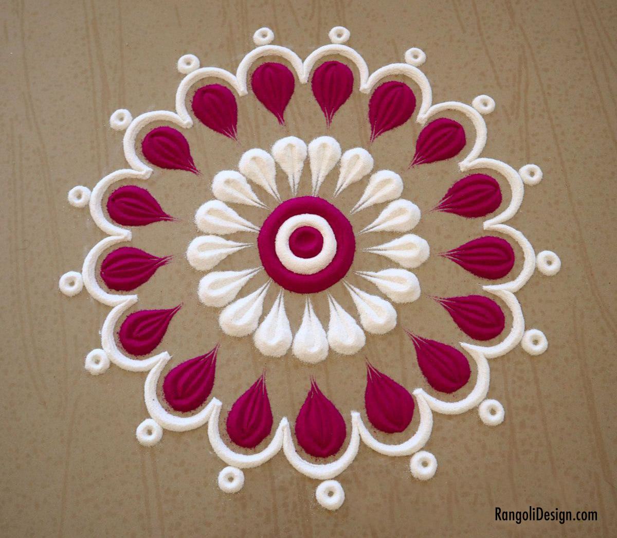 22 easy small flower rangoli design for kids by menaka rangoli