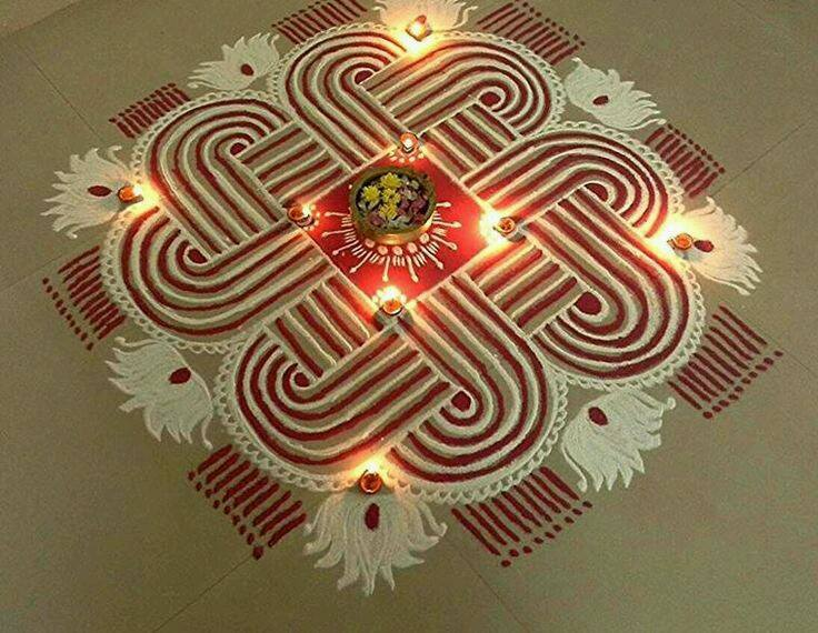 12 diwali rangoli design by umaji