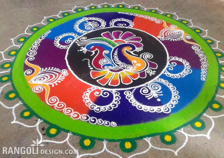 rangoli design for diwali 12