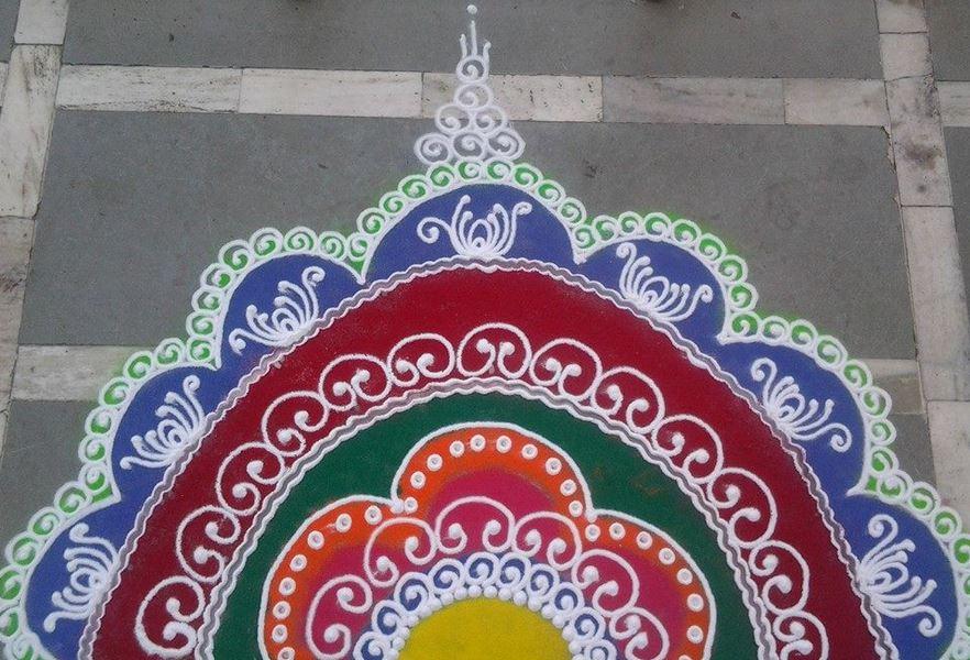 12 sanskar rangoli design by dhanshri mohan hansawar