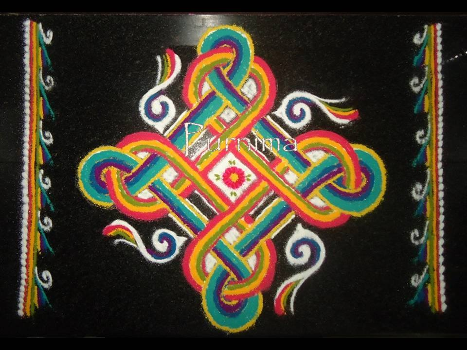 14 diwali rangoli design by purnima