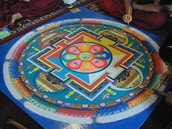 2 mandala rangoli design