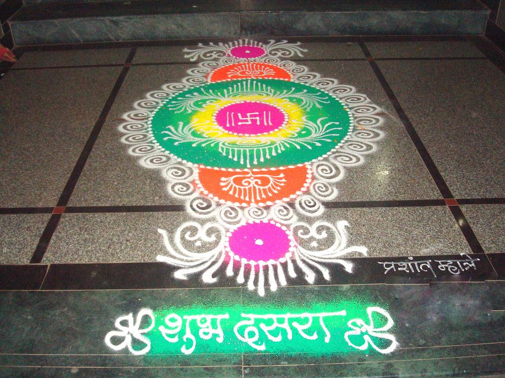 2 sanskar rangoli design by narvekarvivek