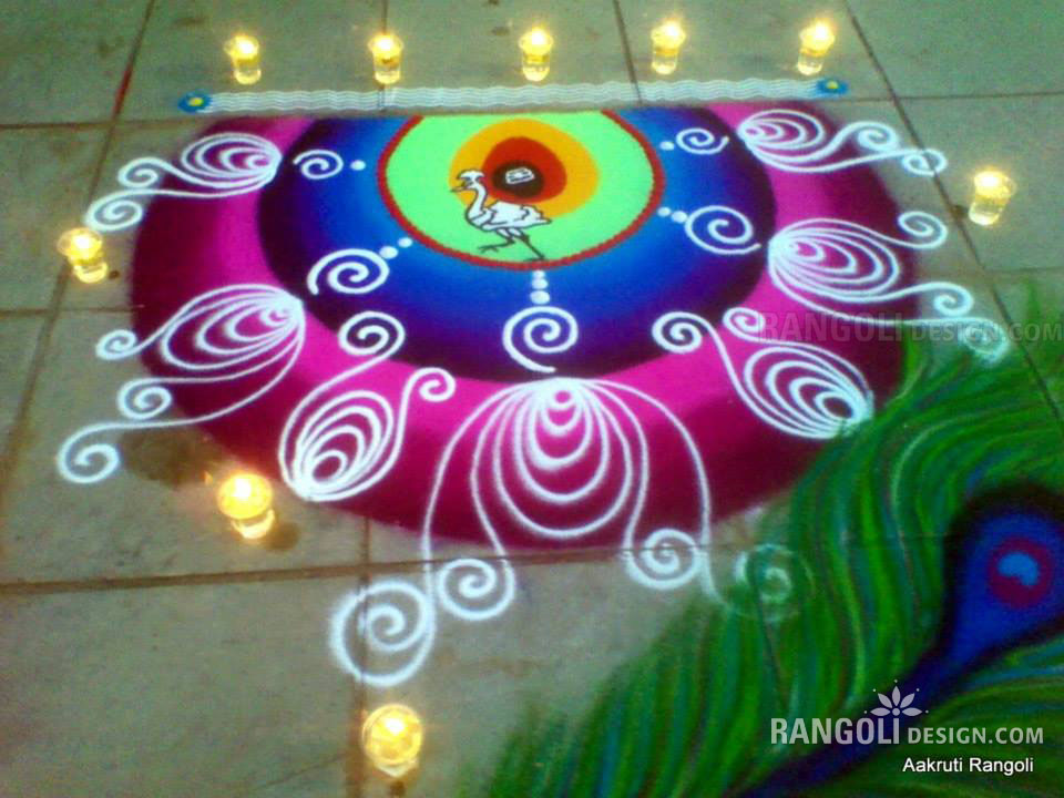 rangoli design by aakruti -  20