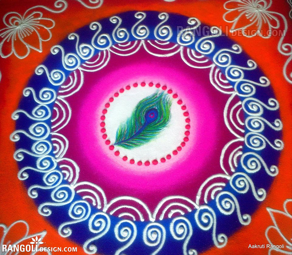 rangoli design by aakruti -  23